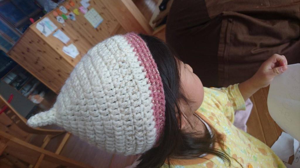 毛糸_帽子_かわいい_どんぐり帽子