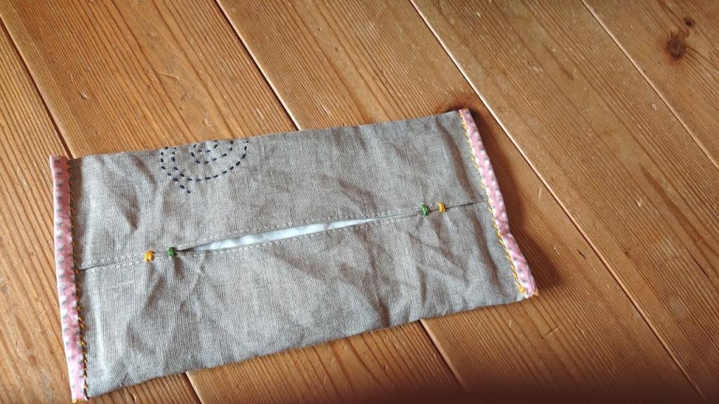 今日作ったもの_手縫い_手作り_チクチク